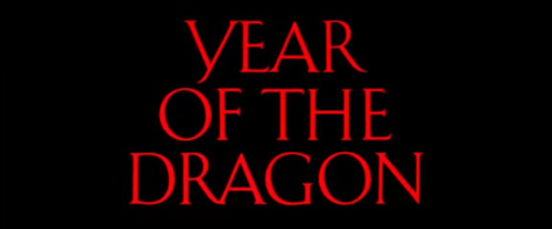 Year Of The Dragon title screen