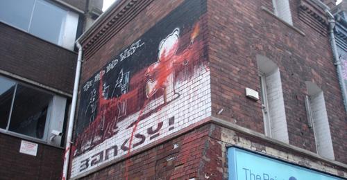 Banksy stormed!
