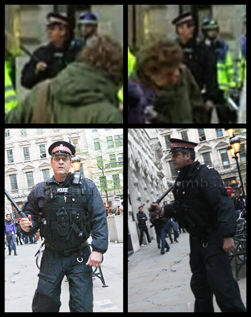 G20 Police Witnesses IDed: 'C1' - City of London Police Officer 204