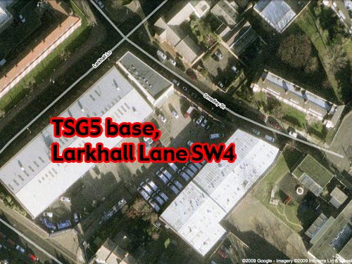 TSG 5 base, Larkhall Lane SW4