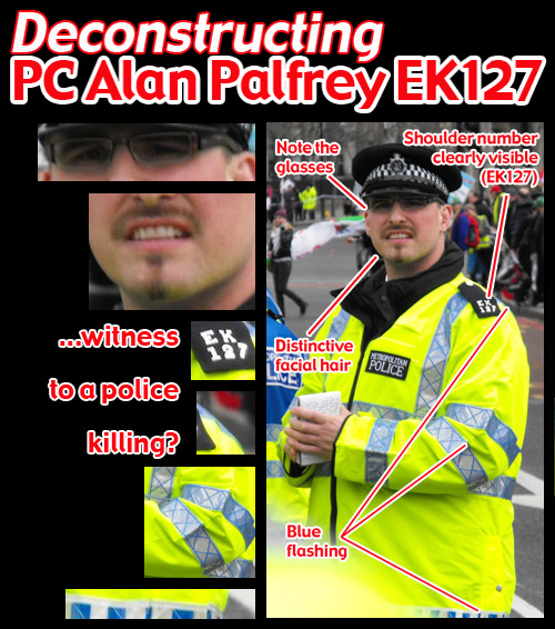 Deconstructing PC Alan Palfrey EK127