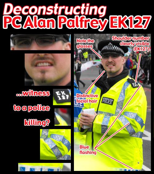 Deconstructing PC Alan Palfrey EK127