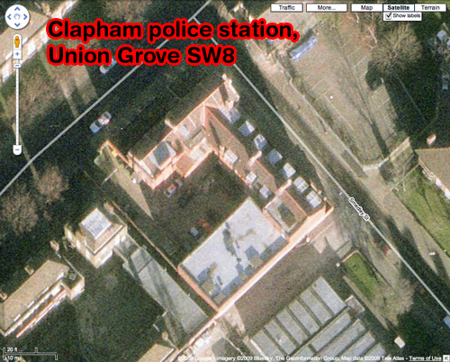 Clapham Police Station, Union Grove SW8