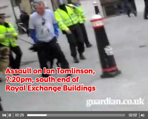 Ian Tomlinson's G20 assault