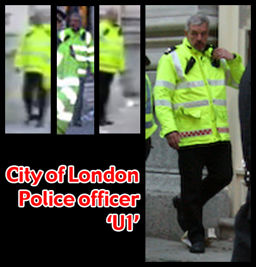 G20 Police Witnesses IDed: City of London Police officer 'U1'