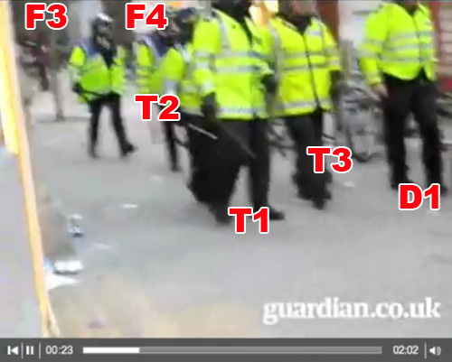 Witnesses to G20 Ian Tomlinson assault 1/4/9 (5)