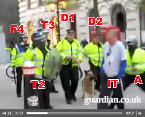 Witnesses to G20 Ian Tomlinson assault 1/4/9 (9)