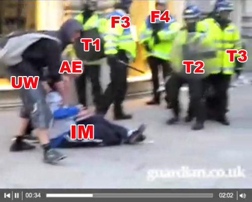 Witnesses to G20 Ian Tomlinson assault 1/4/9 (14)