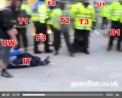 Witnesses to G20 Ian Tomlinson assault 1/4/9 (17)