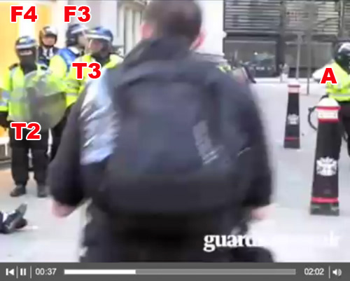 Witnesses to G20 Ian Tomlinson assault 1/4/9 (18)