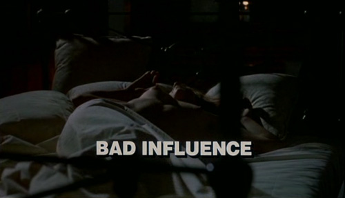 Bad Influence title screen