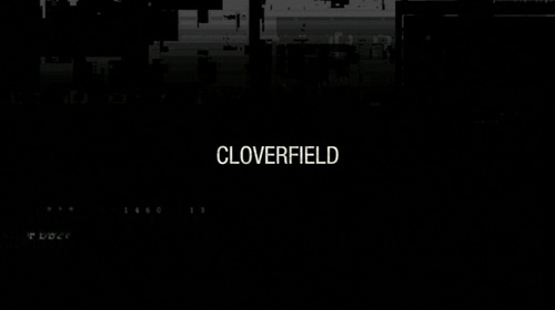 Cloverfield title screen
