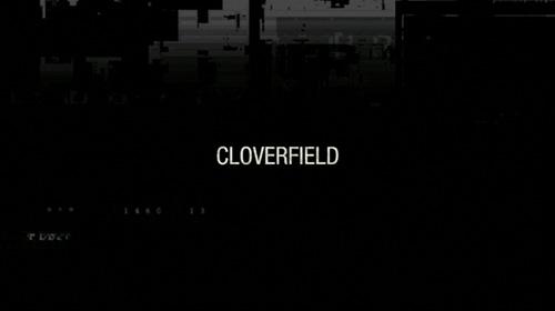Cloverfield title screen