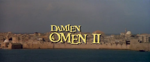 Damien: Omen II title screen
