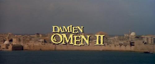 Damien: Omen II title screen