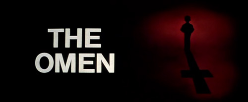 The Omen title screen (1976)
