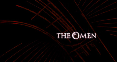 The Omen (2006) title screen