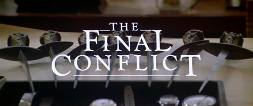 Omen III: The Final Conflict title screen