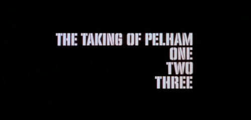 The Taking Of Pelham One Two Three title screen