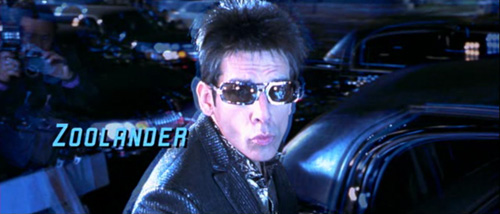 Zoolander title screen