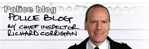 Chief Inspector Richard Corrigan - copper blogger