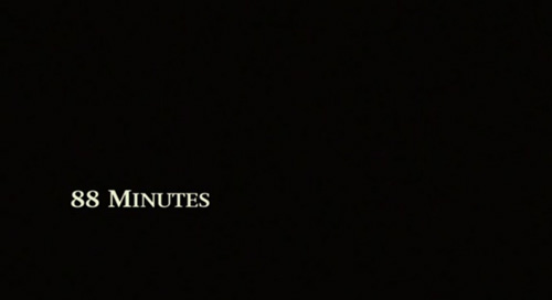88 Minutes title screen