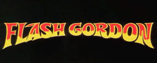 Flash Gordon title screen