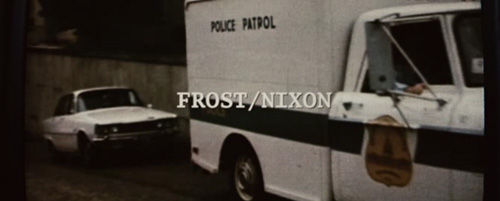 Frost/Nixon title screen
