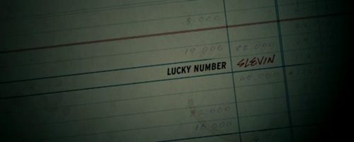 Lucky Number Slevin title screen