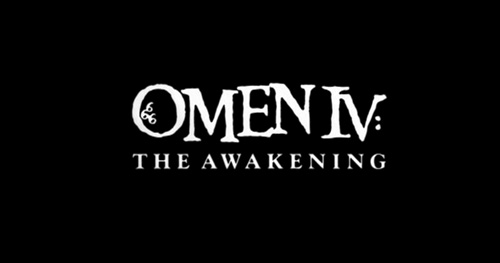 Omen IV: The Awakening title screen