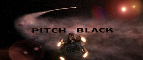 Pitch Black title screen