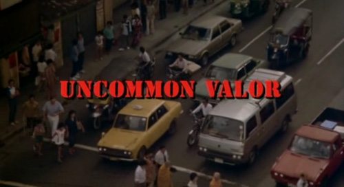 Uncommon Valor title screen