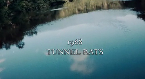 1968 Tunnel Rats title screen