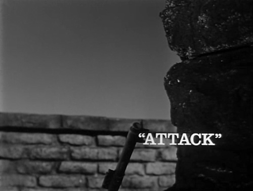 Attack title screen