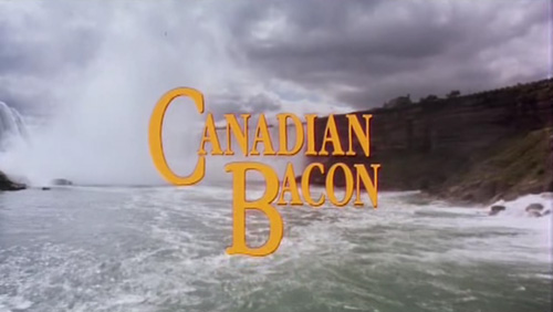 Canadian Bacon title screen