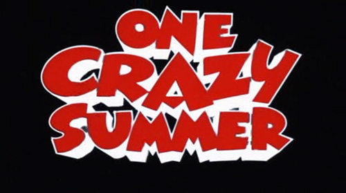 One Crazy Summer title screen