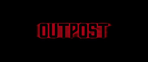Outpost title screen
