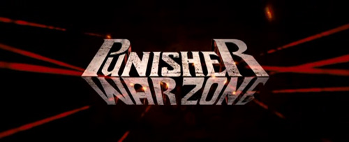 Punisher: War Zone title screen
