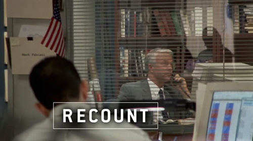 Recount title screen