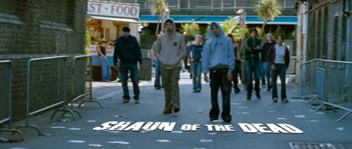 Shaun Of The Dead title screen