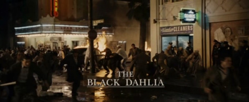 The Black Dahlia title screen