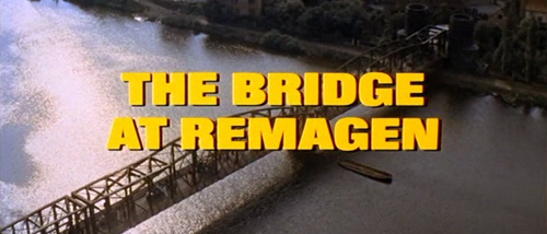The Bridge At Remagen title screen