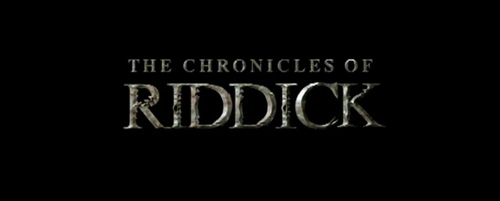 The Chronicles Of Riddick title screen