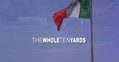 The Whole Ten Yards title screen