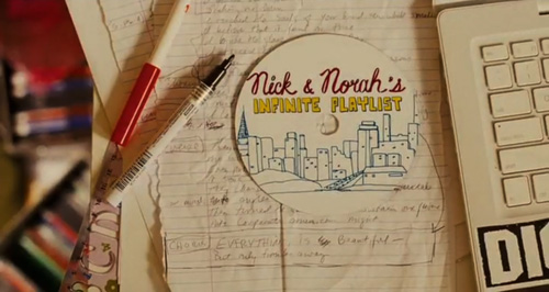 Nick & Norah's Infinite Playlist title screen
