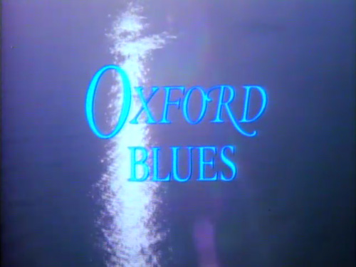 Oxford Blues title screen