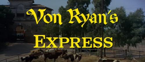Von Ryan's Express title screen