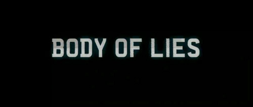 Body Of Lies title screen