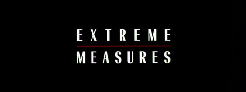 Extreme Measures title screen