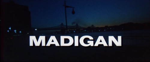 Madigan title screen